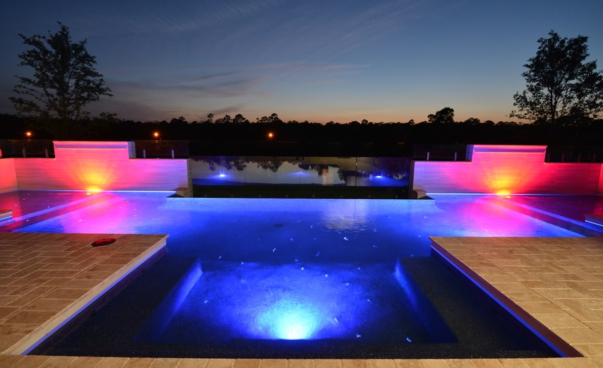 Palm Coast Pool Builders Pool Lighting Trends