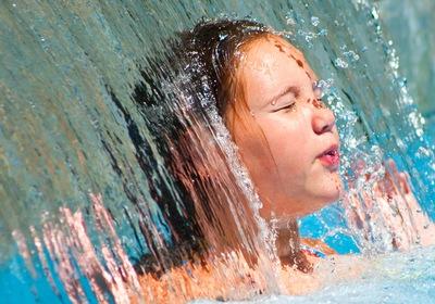 Why We Love In-Pool Waterfalls