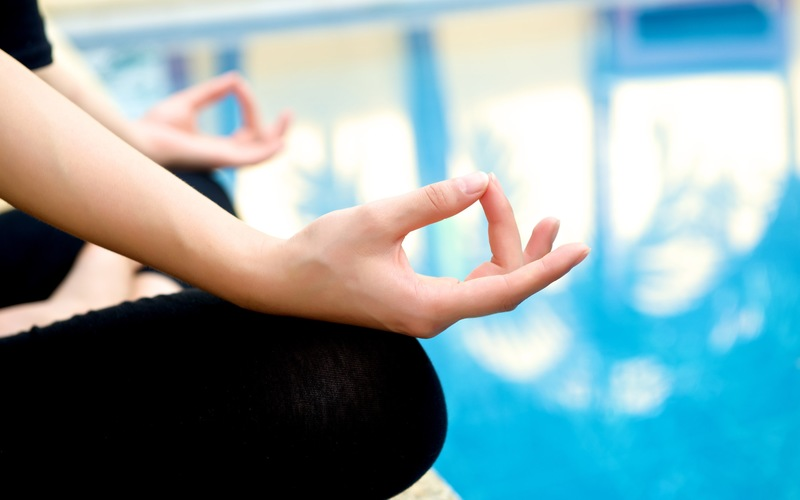 Poses in the Pool: Celebrating International Yoga Day