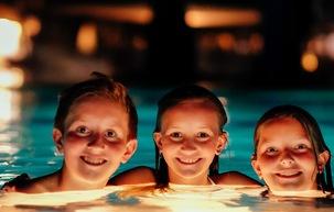 Swim Up to Movie Night