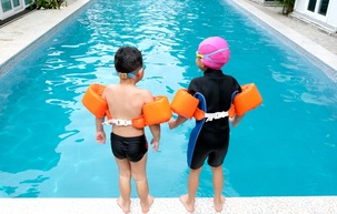 Hook Youth on Swimming Safety by Making Pool Time Fun