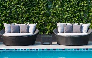 4 Geometric-Inspired Pool Décor Ideas